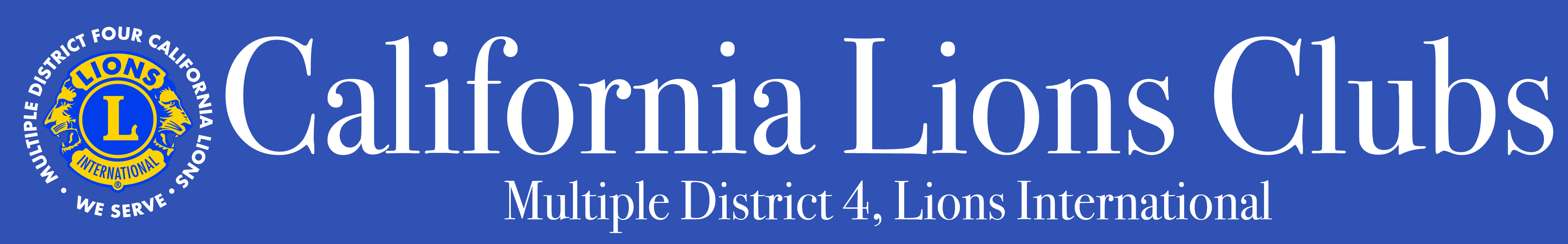 Multiple District 4 California Lions